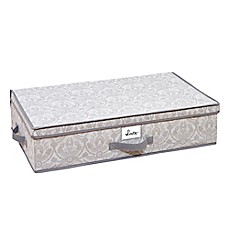 Laura Ashley® Almeida Non-Woven 28-Inch x 16-Inch Under-  sc 1 st  Bed Bath u0026 Beyond & Underbed Storage | Under Bed Storage Bags u0026 Containers | Bed Bath ...