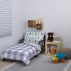 image of carter's® Woodland Boy 4-Piece Toddler Bedding Set