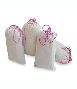 Bolsas de cedro aromático con esencia de lavanda, Set de 4