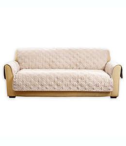 Cubierta protectora para sofá Sure Fit en beige
