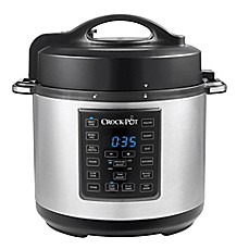 image of Crock-Pot® 6 qt. Express Crock Multi-Cooker in Stainless Steel