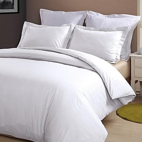 Buy Brielle Linen King Duvet Cover Set In White From Bed