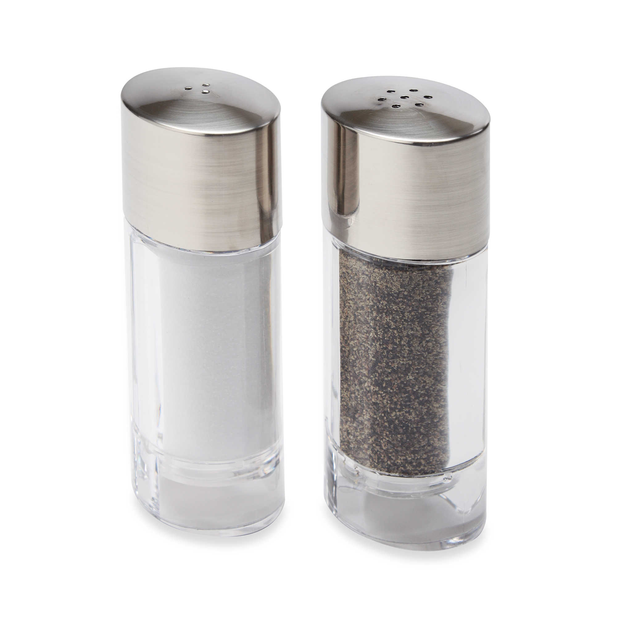 kitchen art salt and pepper dispensers  kitchen design - image of olde thompson salt pepper shaker set in marquis