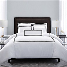 image of Wamsutta® MICRO COTTON® Triple Baratta Stitch Comforter Set