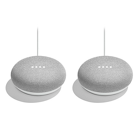 Google Home Mini (Set of 2) in Chalk