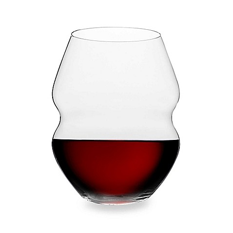 riedel swirl 20 1 2 ounce stemless red wine glasses set of 2 bed bath beyond. Black Bedroom Furniture Sets. Home Design Ideas