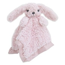 image of Cuddle Me Bunny Security Blanket in Pink
