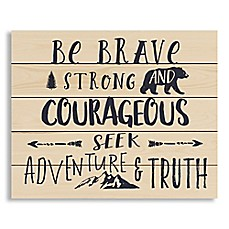 "image of Designs Direct ""Be Brave Strong and Courageous"