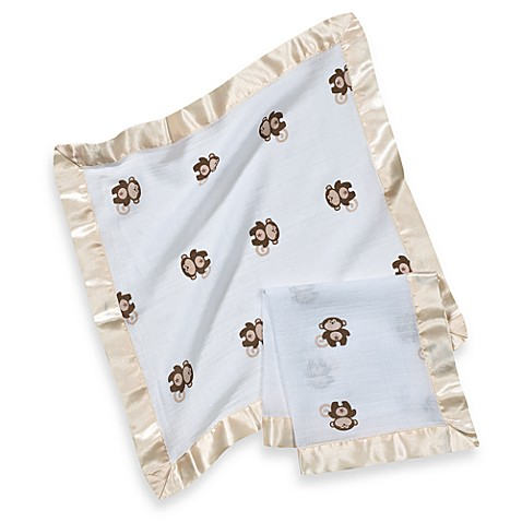 aden® by aden + anais® Muslin Comfort Issie Security Blanket in Safari