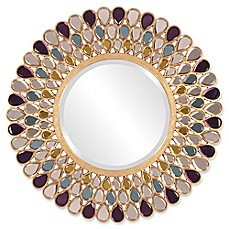 image of Howard Elliott® Collection 40-Inch Grace Round Mirror