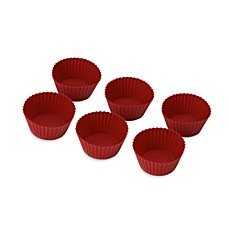 image of Betty Crocker® Silicone Nonstick Reusable Baking Cups (Set of 12)