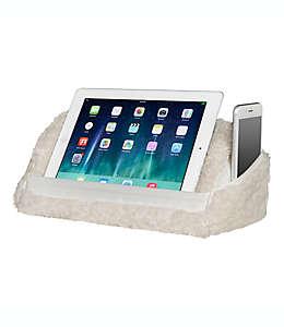 Almohada de viaje para tableta Sherpa 2 en 1 en blanco