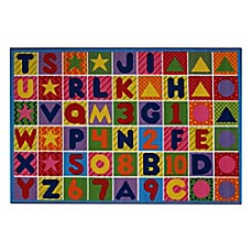 image of Numbers and Letters Rug