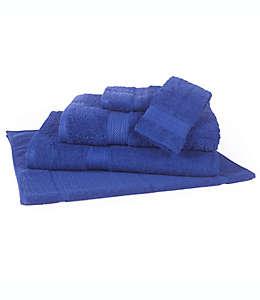 Toalla de baño de algodón Signature color azul cobalto