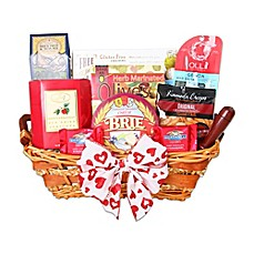Gourmet gift baskets holiday gift baskets food gifts bed bath image of alder creek gluten free valentines day gift basket negle Images