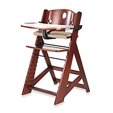 image of Keekaroo® Height Right High Chair with Tray in Mahogony
