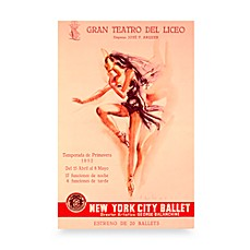 image of New York City Ballet Wall Poster