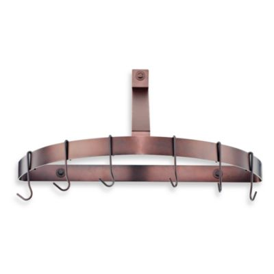 Cuisinart 174 Half Circle Wall Rack In Oil Rubbed Bronze Finish