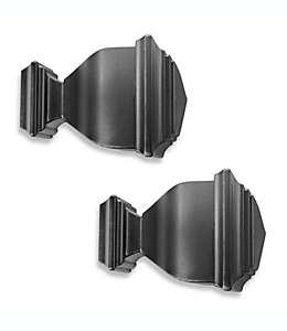 Terminal para ventanas Napoleon Cambria® Premier Complete, en negro satinado, Set de 2