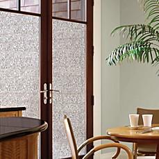 Decorative Privacy Film Door Glass Cling in Mosaic & Window Film - Clings Glass \u0026 Decorative Films   Bed Bath \u0026 Beyond