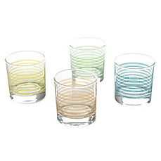 image of Pasabahce Fashion Double Old Fashioned Glasses (Set of 4)