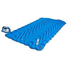 image of Klymit Double V Inflatable Sleeping Mat in Blue