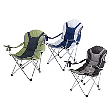 image of Picnic Time® Reclining Camping Chair