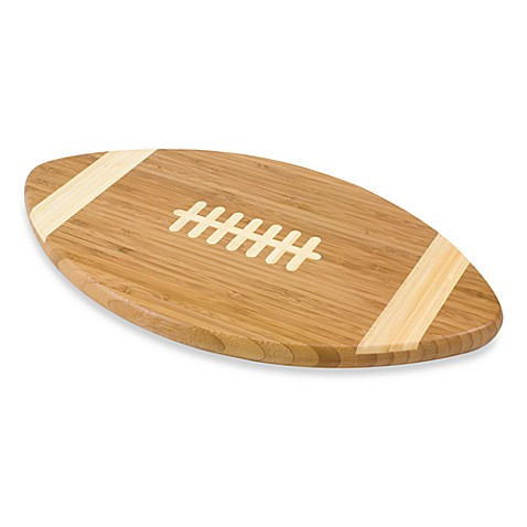 Picnic Time® Touchdown Football Cutting Board