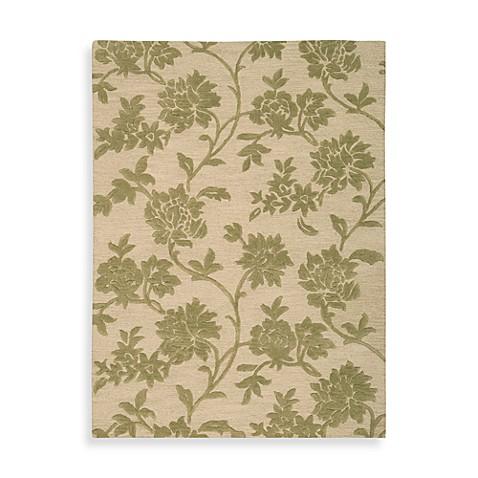 Nourison Skyland Floral Rug In Ivory Green Bed Bath Amp Beyond
