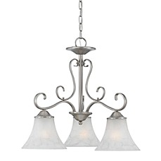 image of Quoizel® Duchess 3-Light Dinette Chandelier