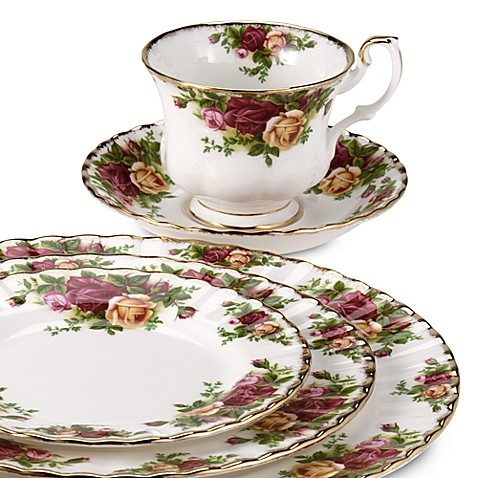 Royal Albert Old Country Roses Dinnerware Collection  sc 1 st  Bed Bath \u0026 Beyond & Royal Albert Old Country Roses Dinnerware Collection - Bed Bath ...