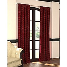 image of Designers' Select™ Emerson Rod Pocket/Back Tab Window Curtain Panel