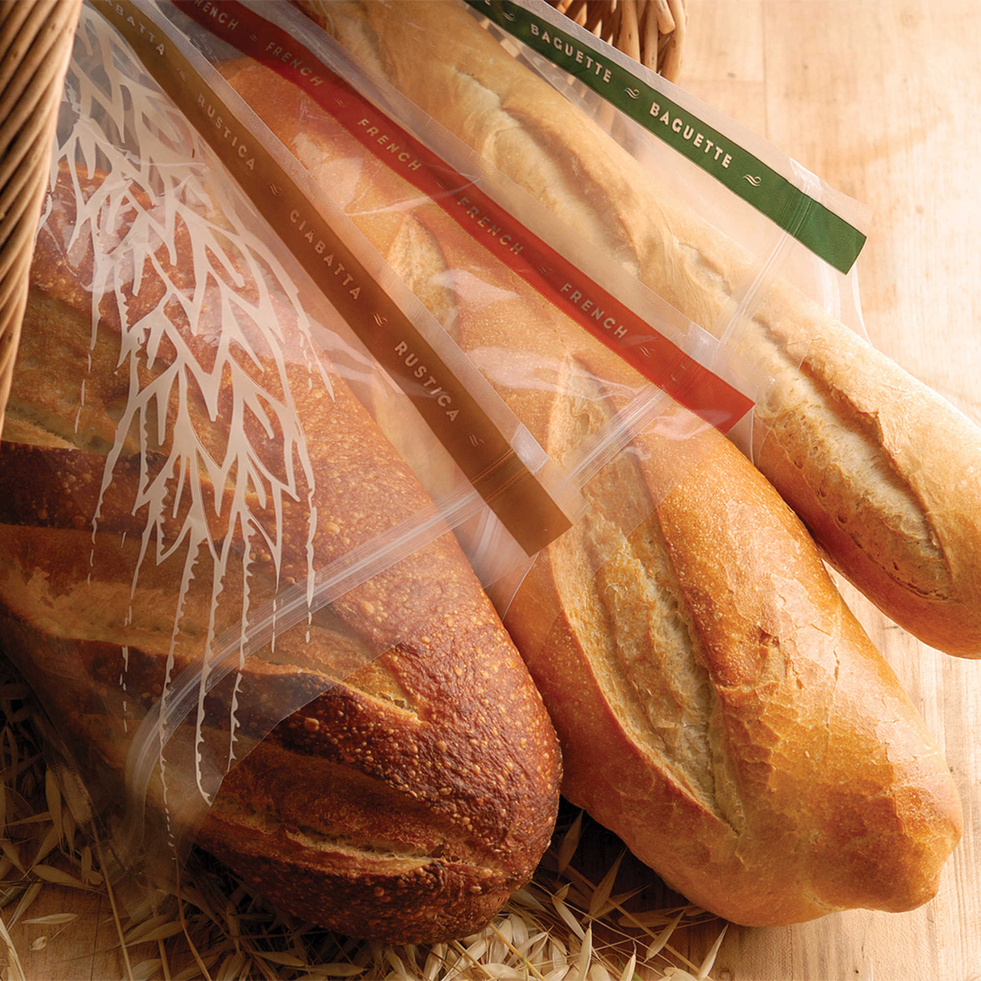 Harold Import Co. 3-Pack Bread Bags