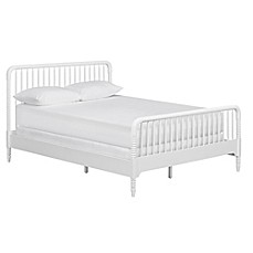 image of Little Seeds Rowan Valley Linden Bed in White