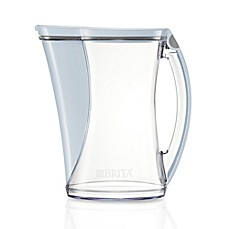 image of Brita® 12-Cup Stream Cascade Pitcher in White