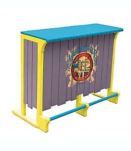 Barra de bar con destapador Margaritaville® en gris/azul