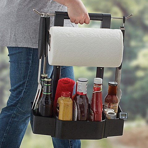 Just Grillin BBQ Serving Caddy