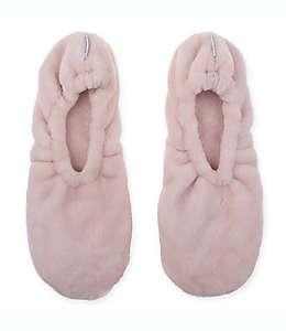 Calcetines ultra afelpados de memory foam unitalla Wamsutta® en rosa