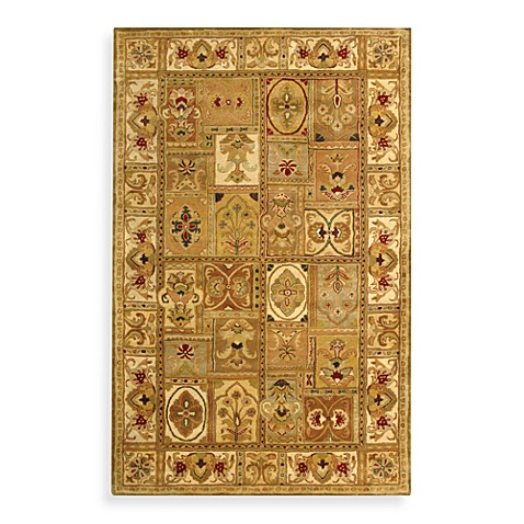 Safavieh Classic Sage and Multicolor Wool 6-Foot x 9-Foot Room Size Rug