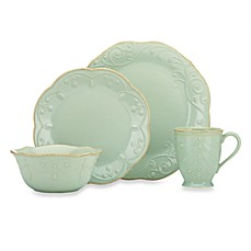 image of Lenox® French Perle™ 4-Piece Place Setting in Ice Blue
