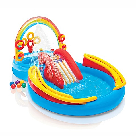 Rainbow Ring Play Center Pool Bed Bath Beyond