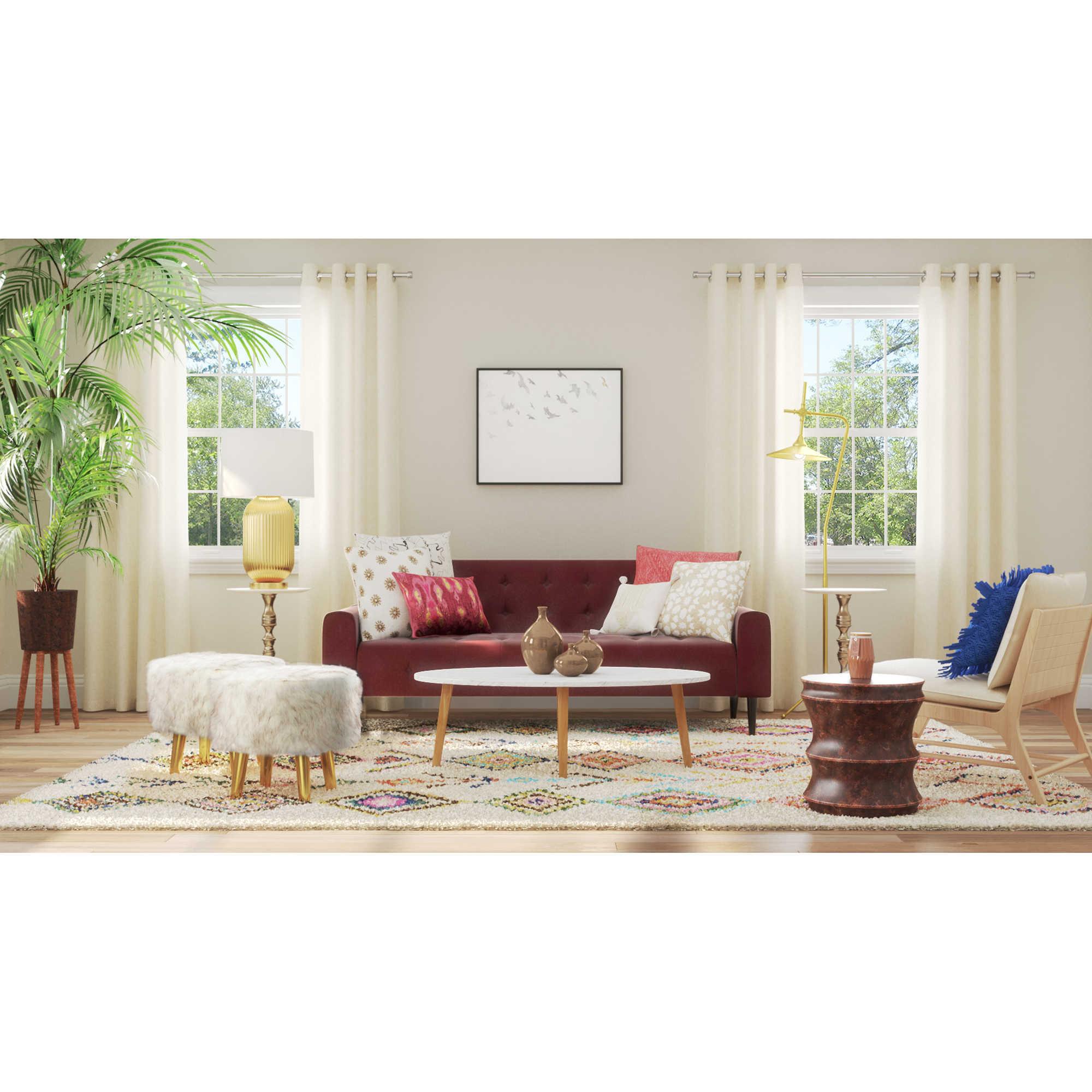 Sophisticated Patterns Living Room - Bed Bath & Beyond