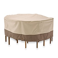 Clic Accessories Veranda Round Table And Chair Set Cover