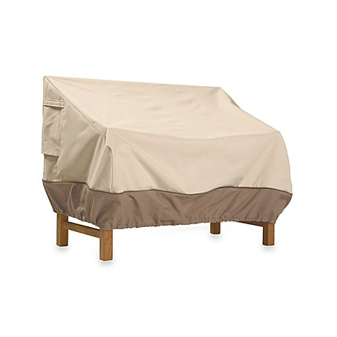 Classic Accessories® Veranda Small Patio Loveseat and Bench Cover