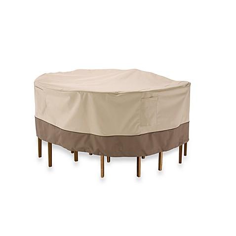 Classic accessories veranda 54 inch bistro patio table and chair classic accessoriesreg veranda 54 inch bistro patio table and chair set cover watchthetrailerfo
