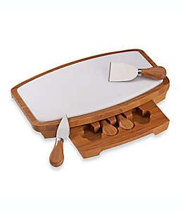 Set de tabla para quesos B. Smith®, con mármol