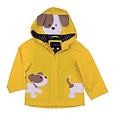 image of London Fog® Dog Hooded Jacket in Yellow
