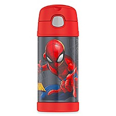 image of Thermos® Spiderman 12 oz. Straw Bottle