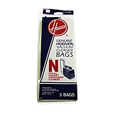 image of Hoover® 5-Pack Standard Type N Filtration Bags