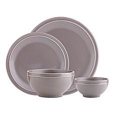 Godinger Culinara 16-Piece Dinnerware Set in Grey  sc 1 st  Bed Bath u0026 Beyond & Dinnerware Sets   Bed Bath u0026 Beyond
